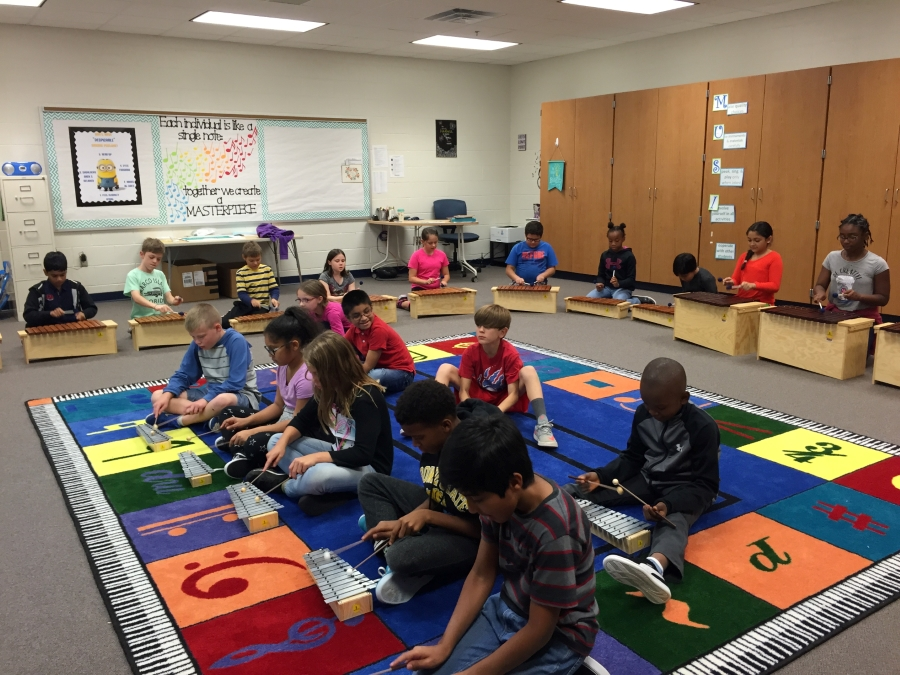 4th Grade Quality Musicians on Orff Instruments